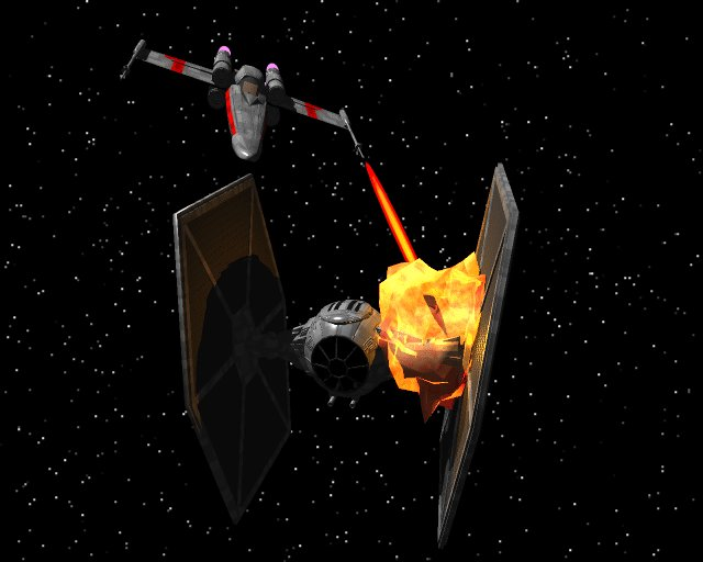 Armer TIE-Fighter...